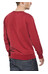 ÖTILLÖ French Terry Peached - Sweat-shirt Homme - rouge
